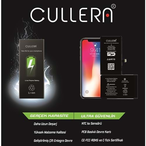 CULLERA 8G BATTERY CD-10